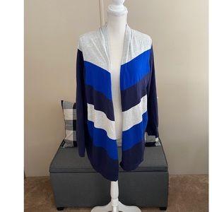 Lane Bryant Blue Cardigan Sweater Size 22/24